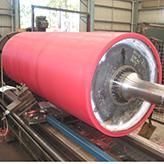 10 Large-polyurethane-lined-conveyor-belt-roller-application of polyurethane urethane PU productsin in mining-polyurethane pad-sheet-rollers-wheels-polyurethane screen-polyurethane coating.jpg